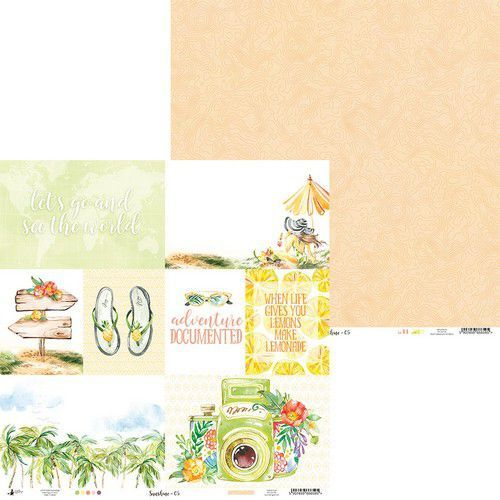 Piatek13 - Paper Sunshine 05 P13-SUN-05 12x12 (06-19)