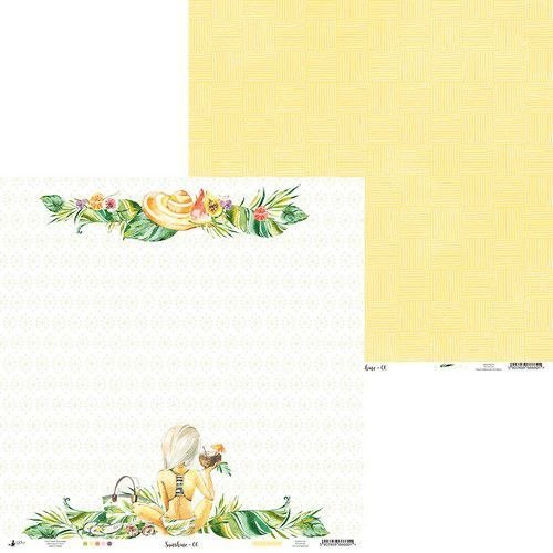 Piatek13 - Paper Sunshine 06 P13-SUN-06 12x12 (06-19)