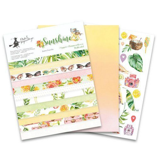 Piatek13 - Paper pad Sunshine 6x8 Sunshine P13-SUN-10 6x8 (06-19)