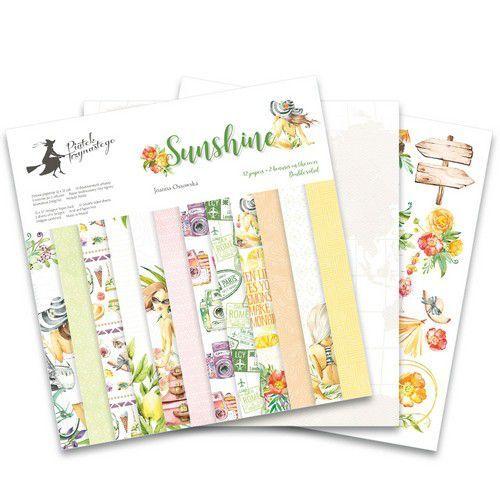 Piatek13 - Paper pad Sunshine 12 Sunshine P13-SUN-08 12x12 (06-19)