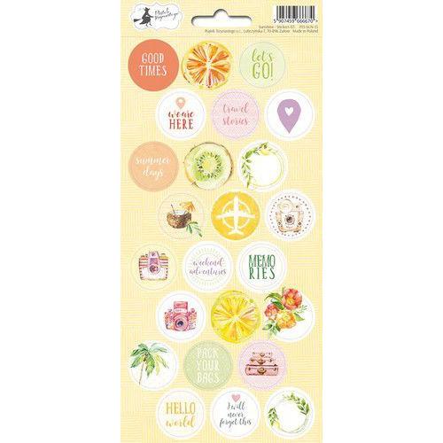 Piatek13 - Sticker sheet Sunshine 03 P13-SUN-13 10,5x23 cm (06-19)