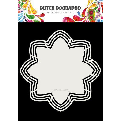 Dutch Doobadoo Dutch Shape Art Octo Flower 21x21 470.713.177 (06-19)