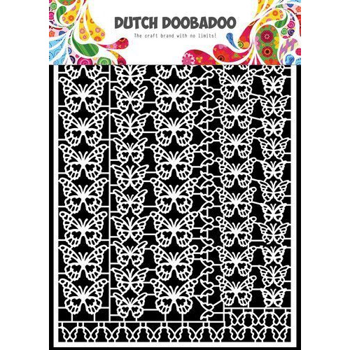 Dutch Doobadoo Dutch Paper Art vlinders A5 472.948.051 (06-19)