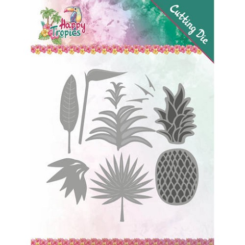 Dies - Yvonne Creations - Happy Tropics - Lush Leaves