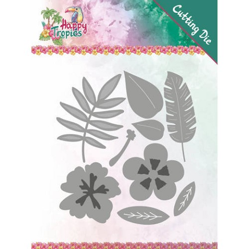 Dies - Yvonne Creations - Happy Tropics - Tropical Blooms