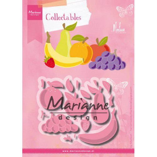 Marianne D Collectable Fruit by Marleen COL1469 104x87,5mm (07-19)