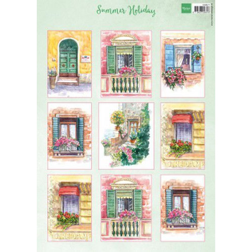 Marianne D Decoupage Summer Holiday VK9577 A4 (07-19)