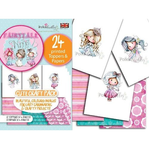 Polkadoodles Toppers & Papers set 1