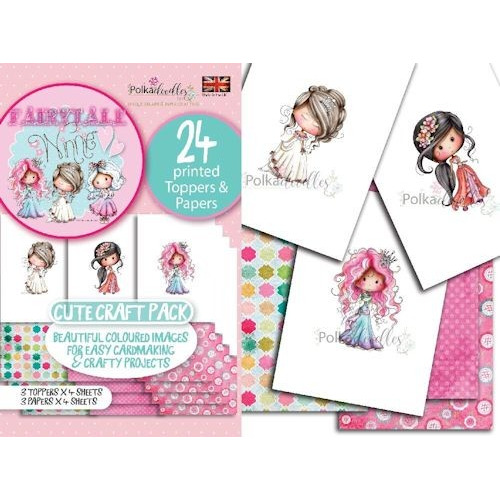 Polkadoodles Toppers & Papers set 2