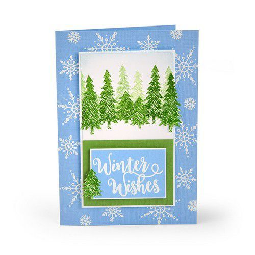 Sizzix Clear Stamps Winter Phrases 663614 Katelyn Lizardi (07-19)