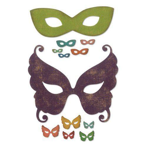 Sizzix Thinlits Die Set - 12PK Masquerade 664195 Tim Holtz (07-19)