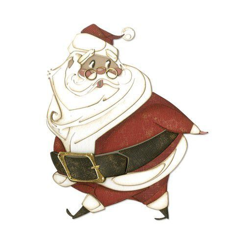 Sizzix Thinlits Die Set - 14PK Jolly St. Nick 664198 Tim Holtz (07-19)