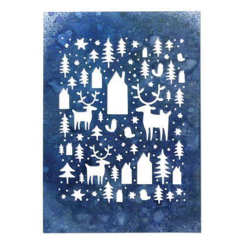 Sizzix Thinlits Die - Nordic Winter 664199 Tim Holtz (07-19)