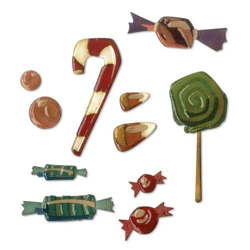 Sizzix Thinlits Die Set - 11PK Sweet Treats 664204 Tim Holtz (07-19)