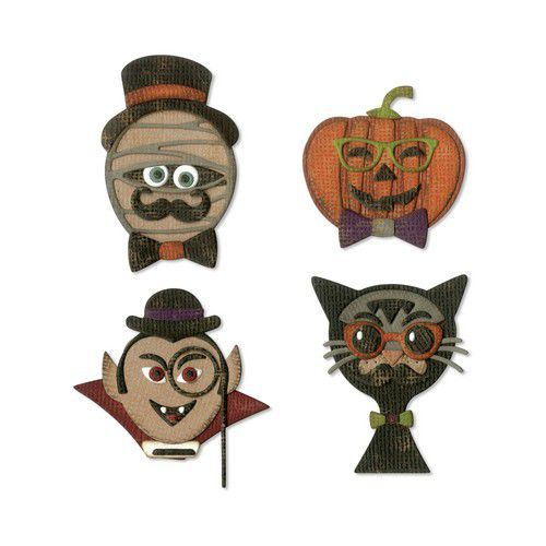 Sizzix Thinlits Die Set - 10PK Hip Haunts 664206 Tim Holtz (07-19)