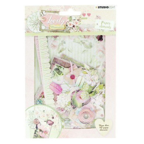 Studio Light Die Cut Paper Set Lovely Moments nr 653 EASYLM653 (07-19)