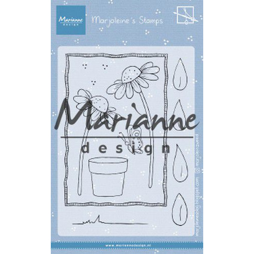 Marianne D Clear Stamps Marjoleine's daisies MZ1903 105x148mm (07-19)