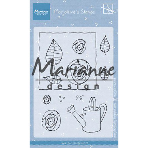 Marianne D Clear Stamps Marjoleine's roses MZ1901 105x148mm (07-19)