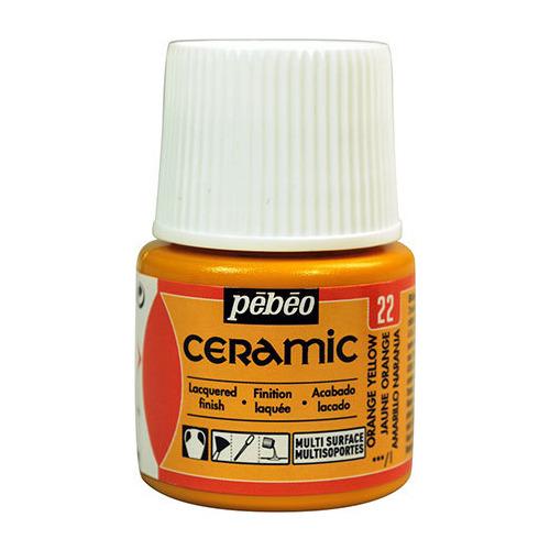 Ceramic Orange Yellow