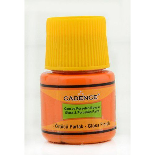 Cadence Opague Glas & Porselein verf Oranje 01 049 0046 0045  45 ml