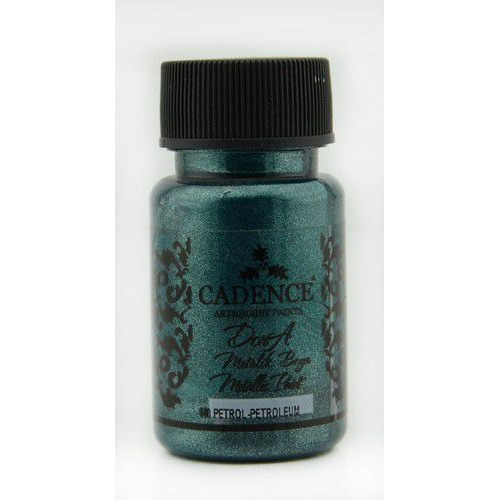 Cadence Dora metallic verf Petrolium 01 011 0140 0050  50 ml