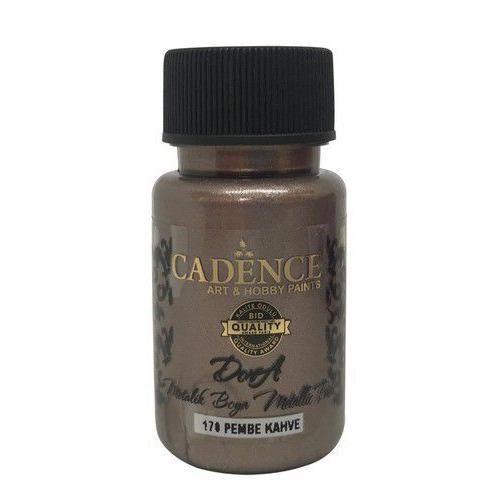 Cadence Dora metallic verf Roze bruin 01 011 0170 0050  50 ml
