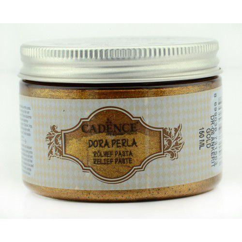 Cadence Dora Perla Met. Relief Pasta Ankerit Gold 01 083 0008 0150  150 ml