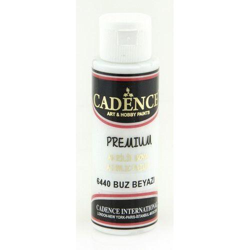 Cadence Premium acrylverf (semi mat) Ice -wit 01 003 6440 0070  70 ml