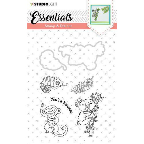Studio Light Stamp & Die Cut A6 Essentials Animals nr 29 BASICSDC29 (07-19)