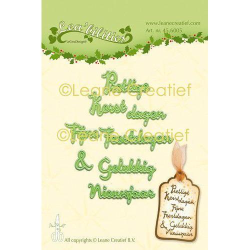 LeCrea - Leabilitie Kerst & Nieuwjaar snijmal (NL) 45.6005 (08-19)