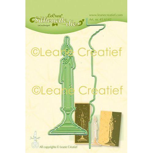 LeCrea - Leabilitie Kaars silhouette snij en embossing mal 45.6142 (08-19)