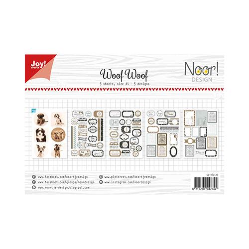 Labelvellen/knipvel Noor - WoofWoof
