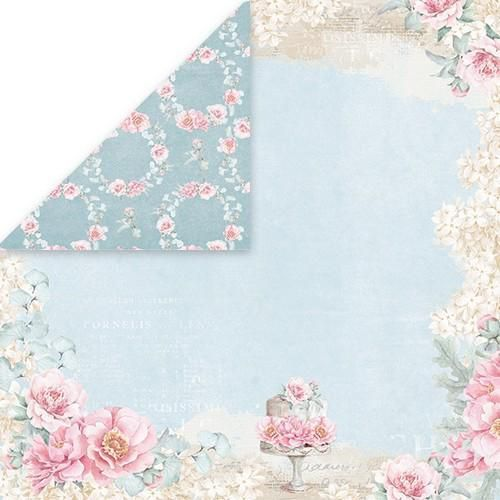 Craft&You Pastel Wedding single paper 12x12 CP-PW02 10st (06-18)