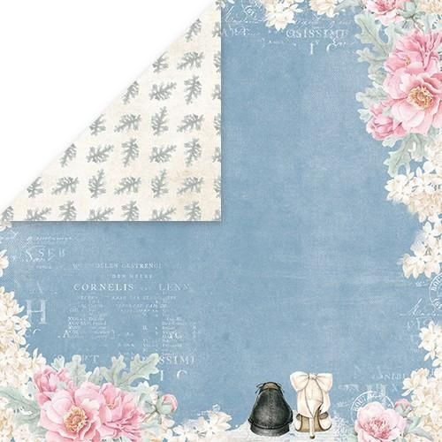 Craft&You Pastel Wedding single paper 12x12 CP-PW05 10st (06-18)