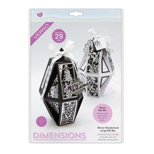 Tonic Studios Die - Dimensions Christmas Box Large 2610e  (07-19)