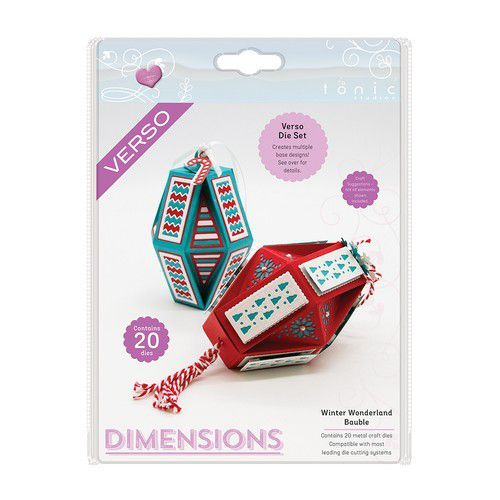 Tonic Studios Die - Dimensions Winter Wonderland Bauble 2612e (07-19)