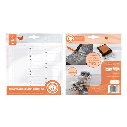 Tonic Studios Luxury Storage - Stamp navul Kit 10 sleeves 2972E 14,8x14,8cm (08-19)