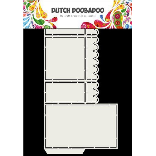 Dutch Doobadoo Dutch Box Art Scallop A4 470.713.057 (07-19)