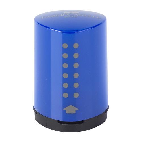 Puntenslijper Grip 2001 mini blauw/rood assorti