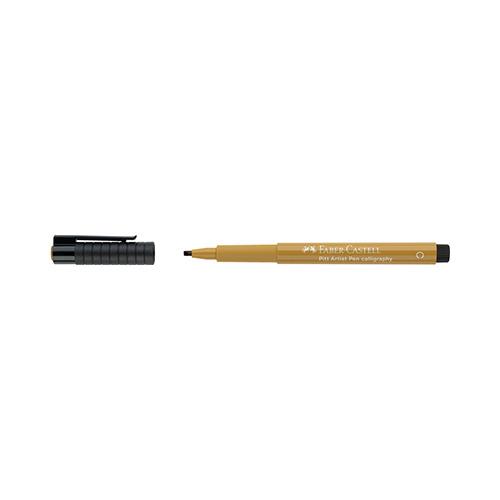 Pitt Artist Pen indian ink color C 268 groen goud
