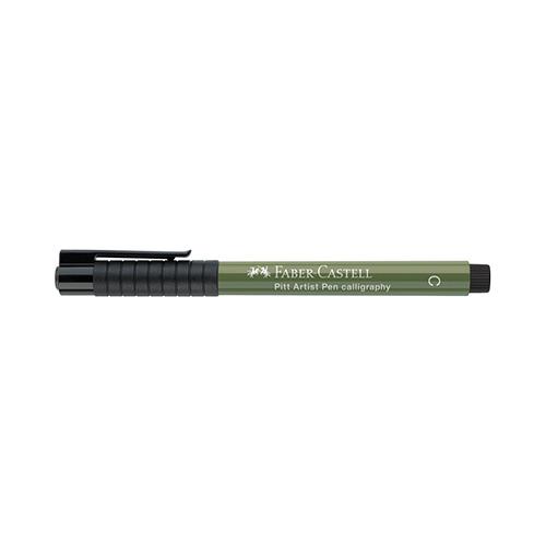Pitt Artist Pen indian ink color C 174 chroomgroen