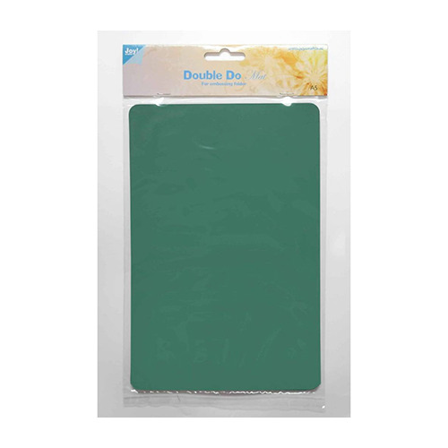 Double Do embossing folder plaat