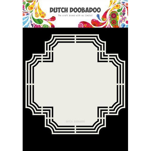 Dutch Doobadoo Dutch Shape Art Kruis 207x207mm 470.713.179 (07-19)