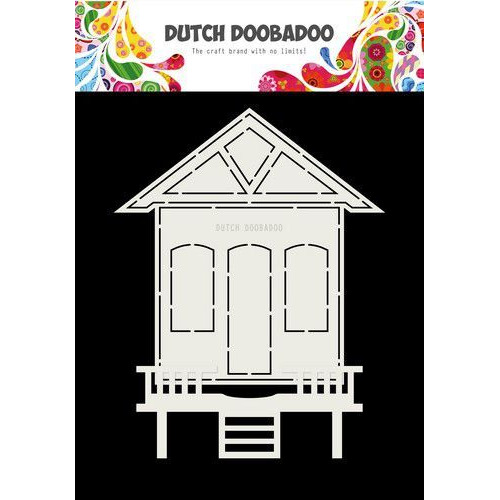 Dutch Doobadoo Card art Huisje 2 delig A5 470.713.719 (07-19)