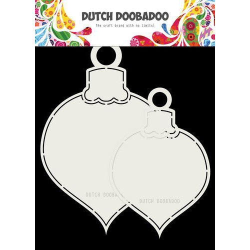 Dutch Doobadoo Card art 2x Kerstballen max13x19cm 470.713.721 (07-19)