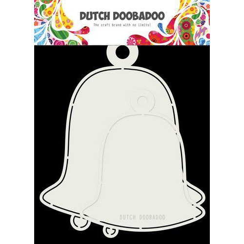 Dutch Doobadoo Card art 2x Kerstbellen max15x17cm 470.713.722 (07-19)