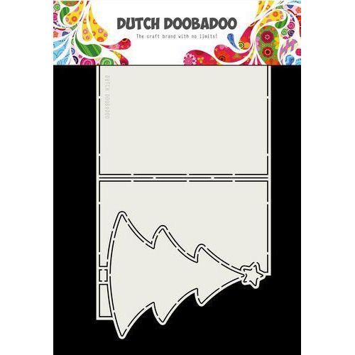 Dutch Doobadoo Card art Kerstboom A4 470.713.723 (07-19)