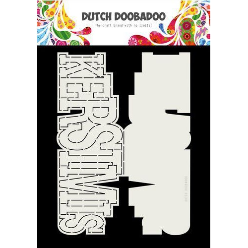 Dutch Doobadoo Card art Kerstmis A4 (NL) 470.713.724 (07-19) x