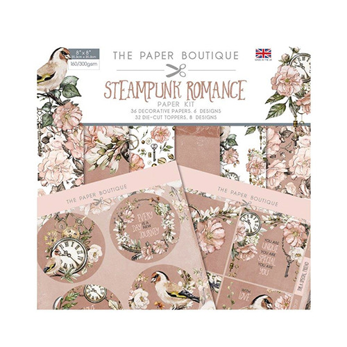 Steampunk Romance Paper Kit