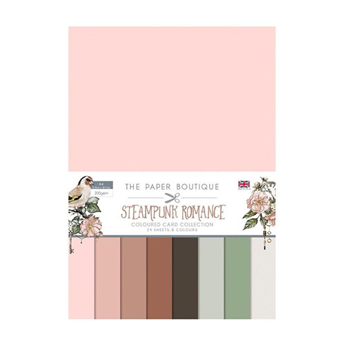 Steampunk Romance Colour Card Collection